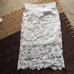 Dresses & Skirts - Lace pencil skirt